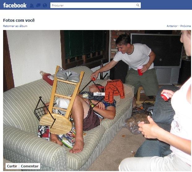 Cuidado, sua foto pode ir para o Facebook