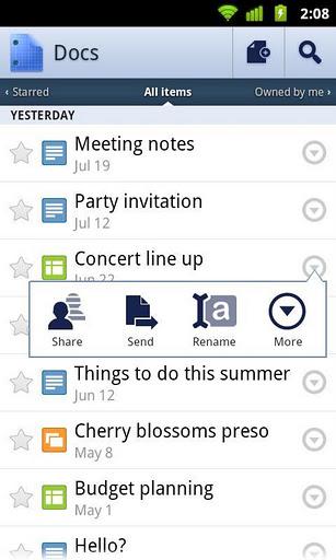 Usuário pode criar lista de documentos (Foto: Reprodução)