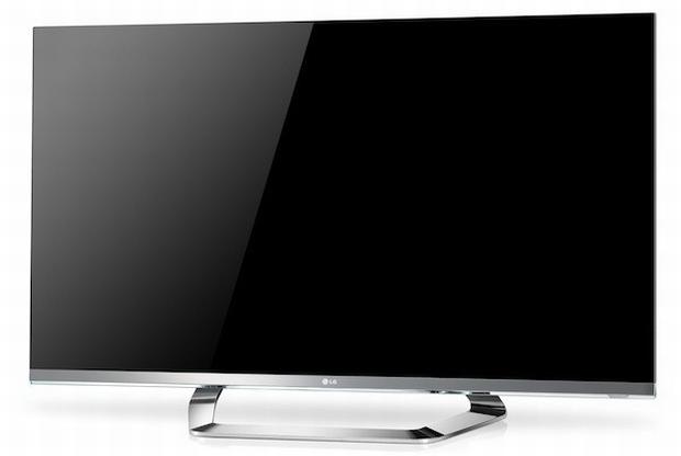 Nova TV 3D da LG tem apenas 1 mm de espessura (Foto: Reprodução)
