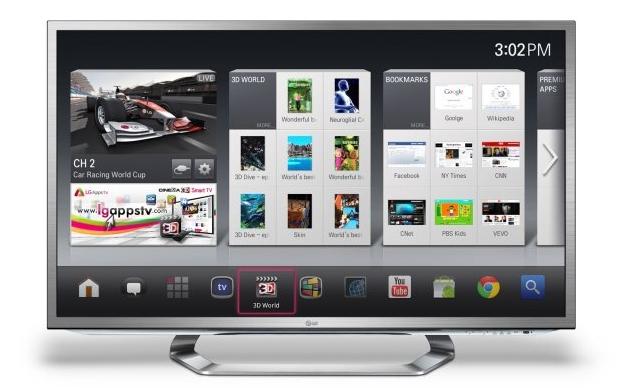 Google TV da LG (Foto: Divulgação)