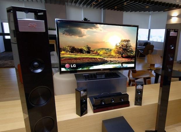Novo home theater LG BH9420PW, com som surround 9.1 (Foto: Reprodução/Engadget)
