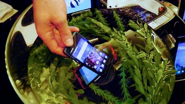 Novos gadgets da Fujitsu podem ser submersos (Foto: Gizmodo)