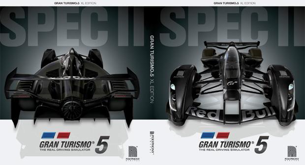 Capa reversível da nova edição de Gran Turismo 5 (Foto: Divulgação)