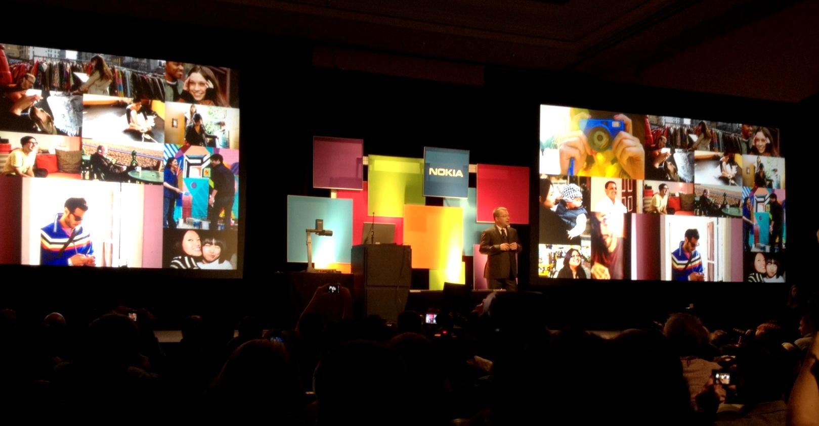 Elop na conferência da Nokia (Foto: Nick Ellis/TechTudo)