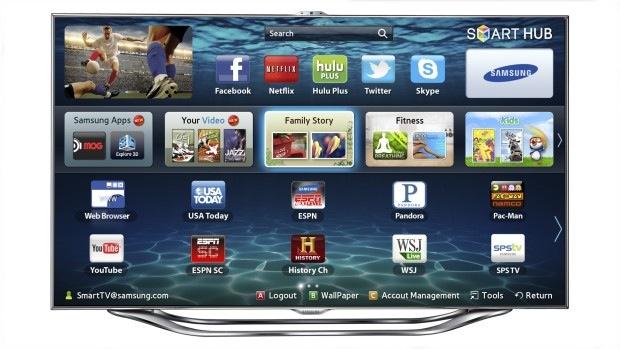Samsung Smart TV UNES8000 (Foto: Divulgação)