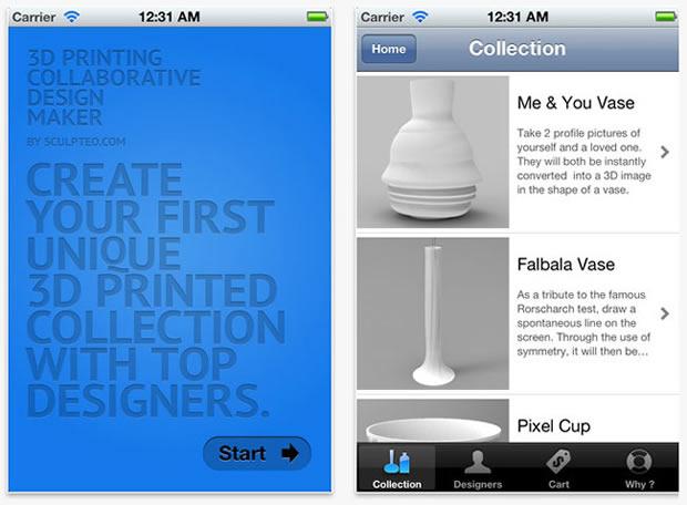 Sculpteo-iOS-app