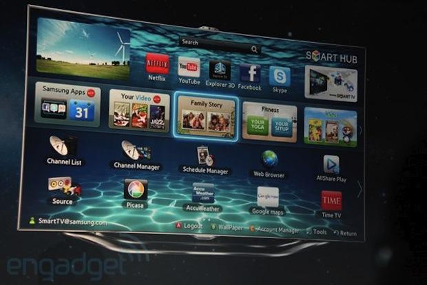 Samsung Smart TV 2012 (Foto: Reprodução/Engadget)