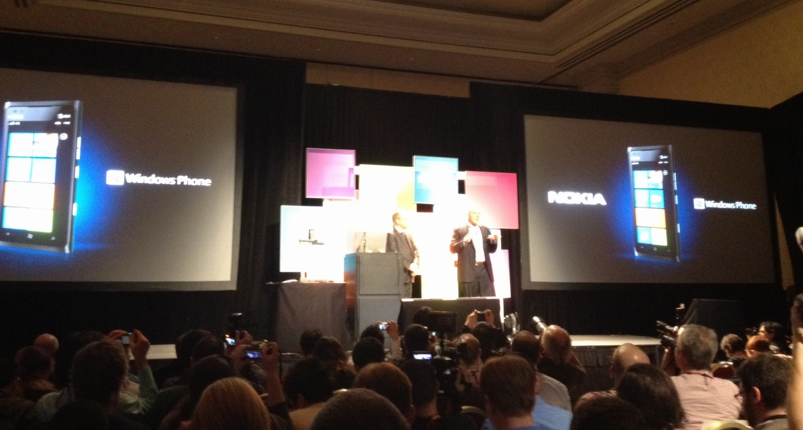 Steve Ballmer na conferência da Nokia (Foto: Nick Ellis/TechTudo)