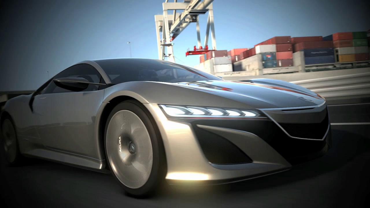 Acura NSX Concept em Gran Turismo 5 (Foto: Divulgação)