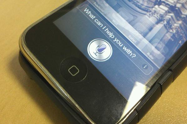 Siri em um iPhone 3GS (Foto: Allan Melo/TechTudo)