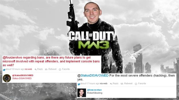 Infratores recorrentes em Call of Duty: Modern Warfare 3 poderão ter seus consoles banidos (Foto: Reprodução: Rafael Monteiro)