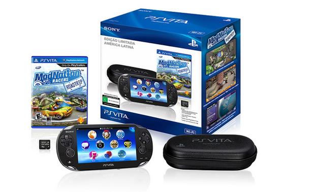 O pacote nacional do PlayStation Vita (Foto: Divulgação)