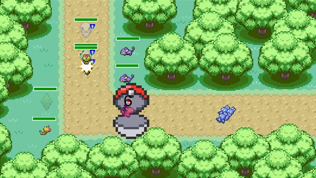 Capturando Pokémons (Foto: Reprodução: Rafael Monteiro)