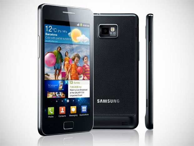 Samsung testa a tecnologia em um Galaxy S2 (Foto: Reprodução)