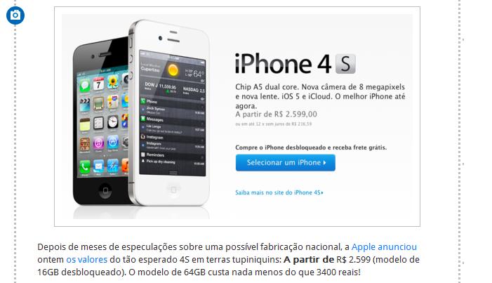 501 coisas para fazer com o dinheiro do iPhone 4S (Foto: Reprodução/Tumblr)