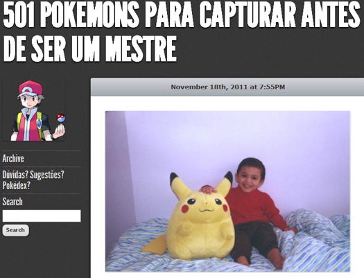 Site dá dicas que quais pokémons se deve pegar antes de ser um mestre (Foto: Reprodução/Tumblr)