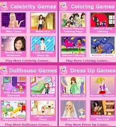 O colorido e os jogos dos sites atraem o publivo mirim  (Foto: Reprodução/DailyMail)