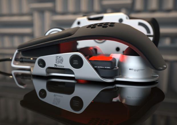 Mouse Level 10 M da TT eSports (Foto - Divulgação)