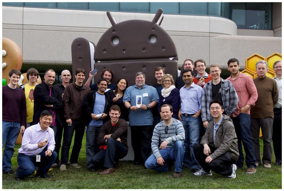 """Wozniak: """"Queria que meu iPhone fizesse algumas coisas que o meu Android faz"""" (Foto: (Foto: Reprodução/Google))"""