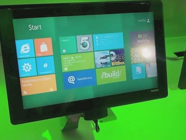 Protótipo de tablet da Nvidia com Windows 8 (Foto: Reprodução / Gizmodo)