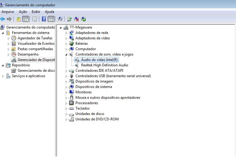 Como habilitar dispositivo de áudio no Windows 7 (Foto: Reprodução/ Carolina Ribeiro)
