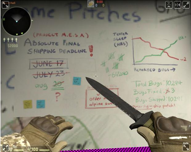 Half-Life em Counter-Strike: Global Offensive (Foto: Reprodução)