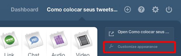 Como colocar seus tweets no tumblr (Foto: Reprodução)
