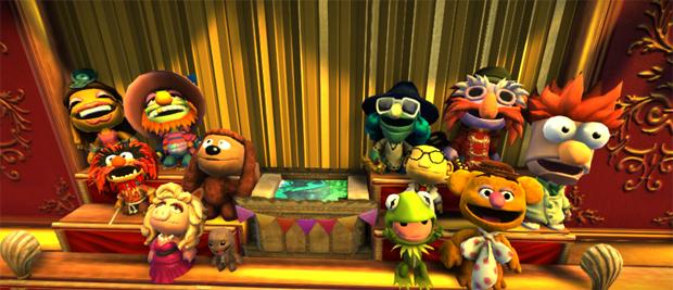 Os Muppets em LittleBigPlanet 2 (Foto: Divulgação)