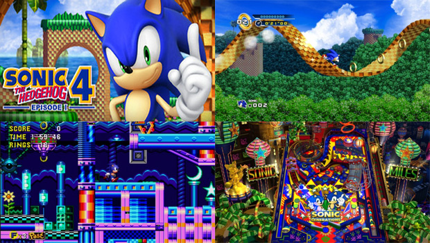 Sonic 4 - Episode I, Sonic CD e Casino Night Pinball Stage chegam para PC (Foto: Steam)