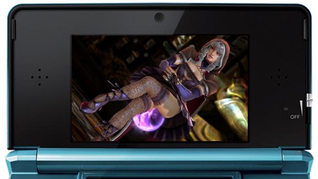 Loja lista Soul Calibur V para o Nintendo 3DS (Foto: Reprodução: Rafael Monteiro)