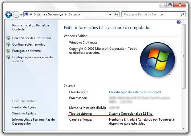 windows-64-bits (Foto: (Foto: Reprodução/Helito Bijora))