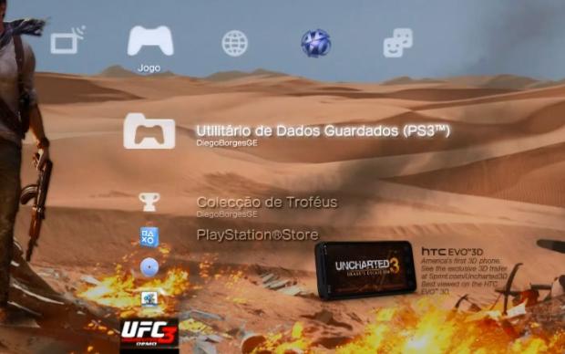 Utilitário de Dados Guardados (PS3) (Foto: Reprodução)