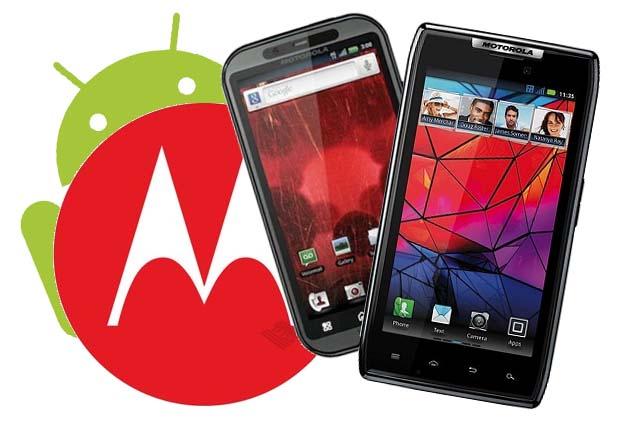 Motorola compara o seu mais novo smartphone, Droid Razr, com o iPhone 4S (Foto: Divulgação)