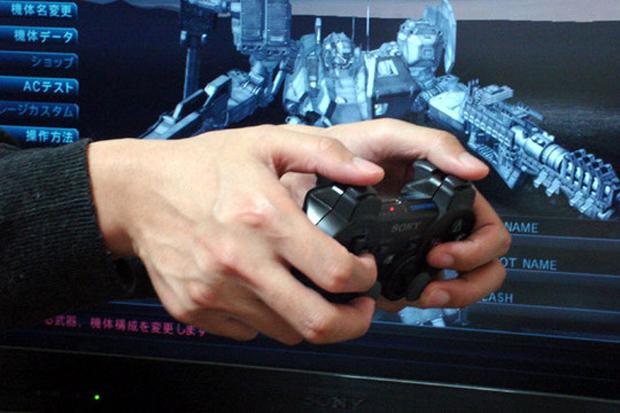 O controle em Armored Core V (Foto: Reprodução)