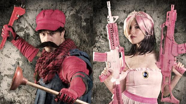 Mistura de Mario com Call of Duty, Mario Warfare, ganha novos pôsteres (Foto: Geeks are Sexy)