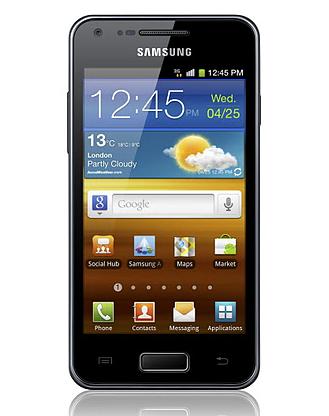 Samsung Galaxy S Advance (Foto: Divulgação)