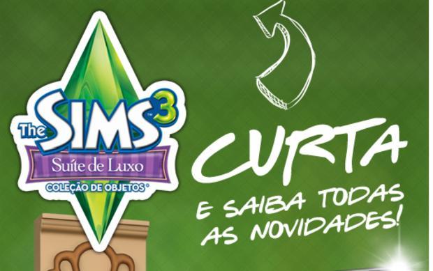 Fan page de The Sims no Facebook (Foto - Divulgação)