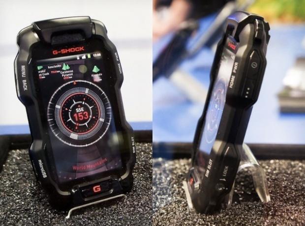 Casio G-Shock smartphone (Foto: Divulgação)