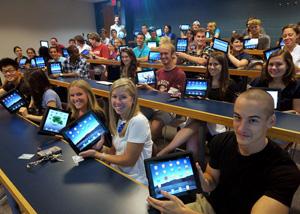 iPad alunos (Foto: Reprodução)