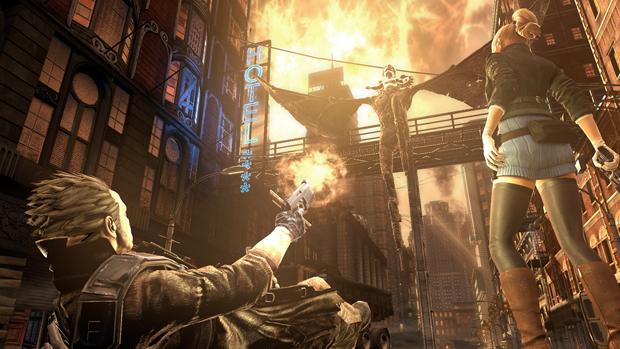 Visual remete aos quadrinhos como Constantine e The Darkness (Foto: Divulgação)