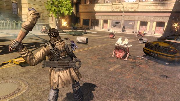 É possível desmembrar ou atirar a cabeça do protagonista para ultrapassar obstáculos (Foto: Divulgação)