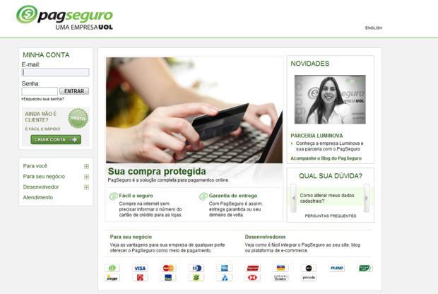PagSeguro (Foto - Divulgação)