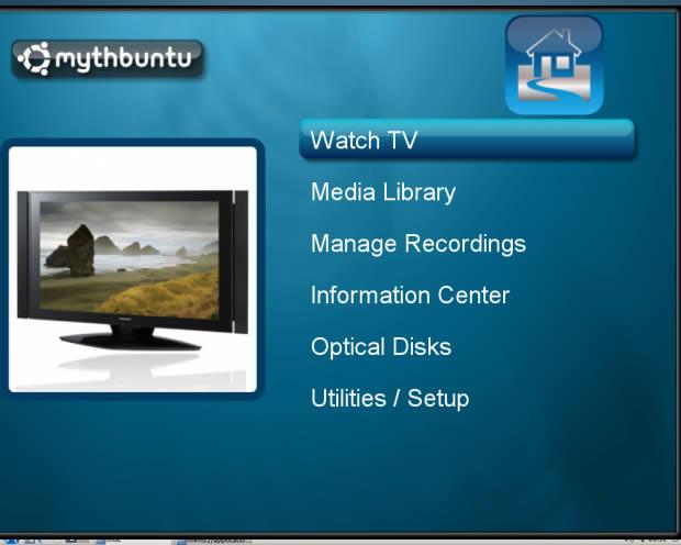 Mythbuntu (Foto: Reprodução)