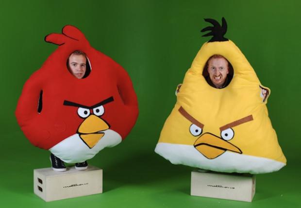 Fantasia do Angry Birds (Foto: Reprodução)