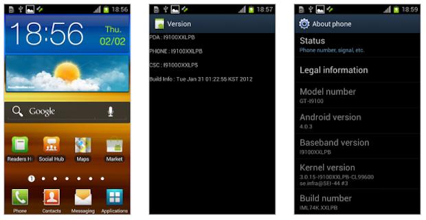 Telas do Android 4.0.3 (Foto: Divulgação)