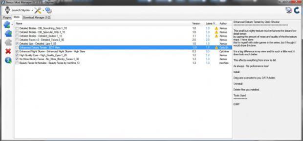 Nexus Mod Manager (Foto - Reprodução)