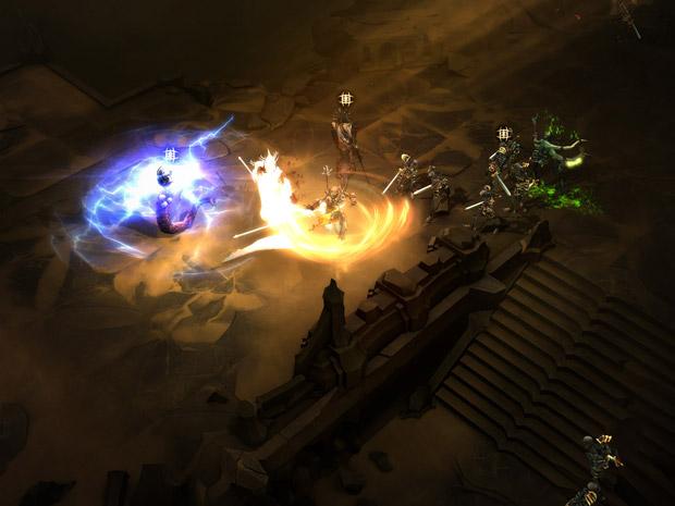 Diablo III foi projetado para ser lançado já com suporte para jogadores daltônicos (Foto: Divulgação)
