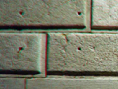 Exemplo de aberração cromática