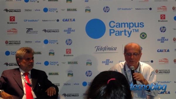Paulo Bernardo, Ministro das Comunicações na Campus Party (Foto: Tecnoblog)