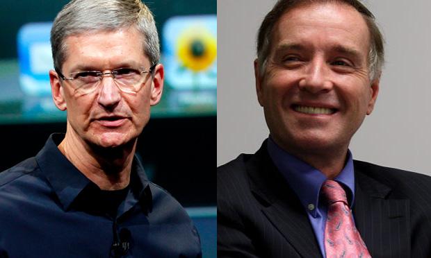 Eike Batista encontra Tim Cook para falar sobre Apple no Brasil (Foto: Divulgação)